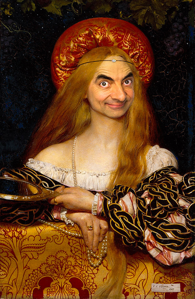 Mr. Bean Art Gallery