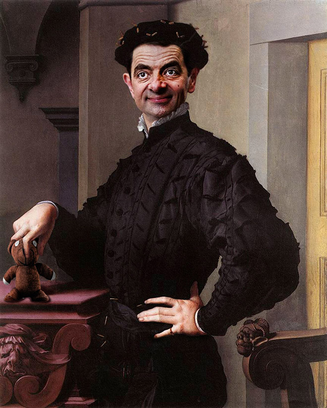 Mr. Bean Art Gallery