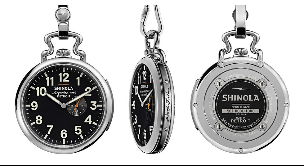 Shinola Henry Ford Pocket Watch