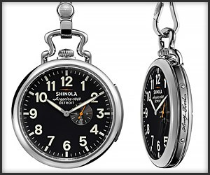 Shinola Henry Ford Pocket Watch