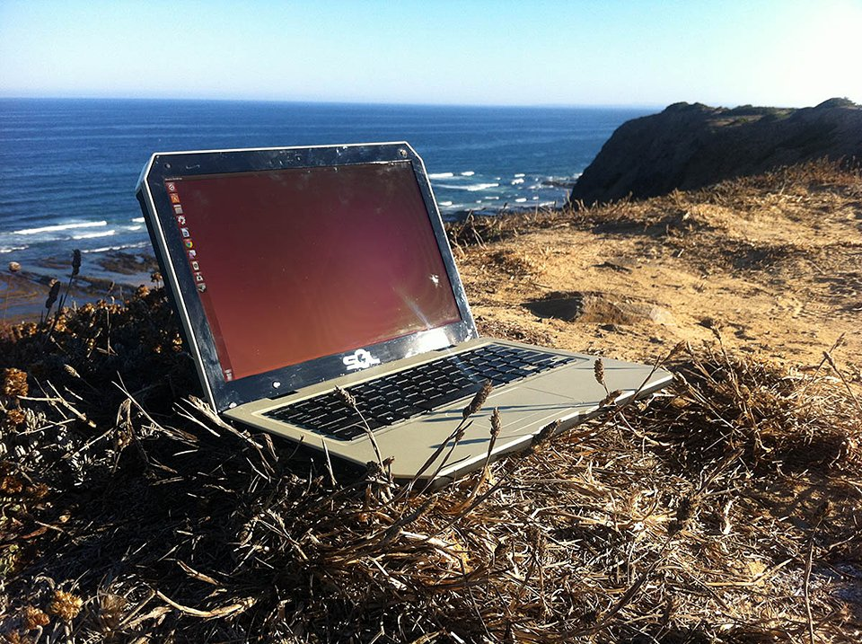 SOL Solar-Powered Laptop