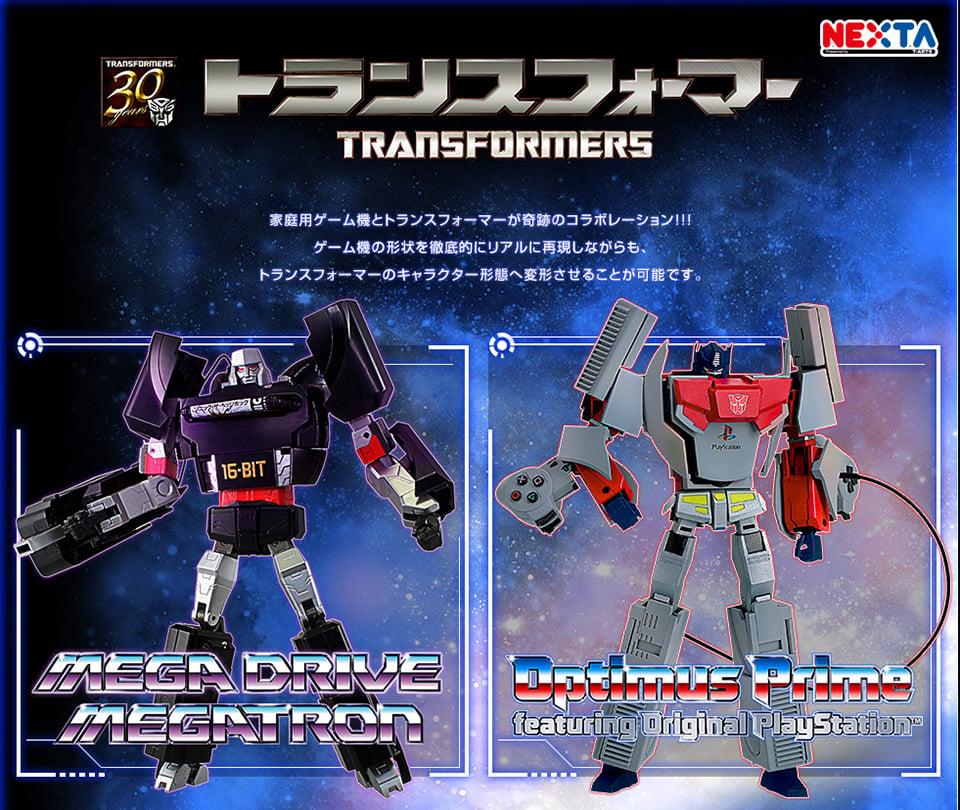 Transformers x Sega x Sony