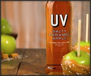 UV Salty Caramel Apple Vodka