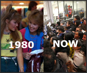 Black Friday: 1980s vs. Now