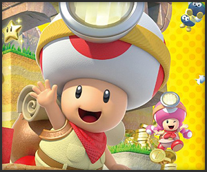 Capt. Toad: Treasure Tracker