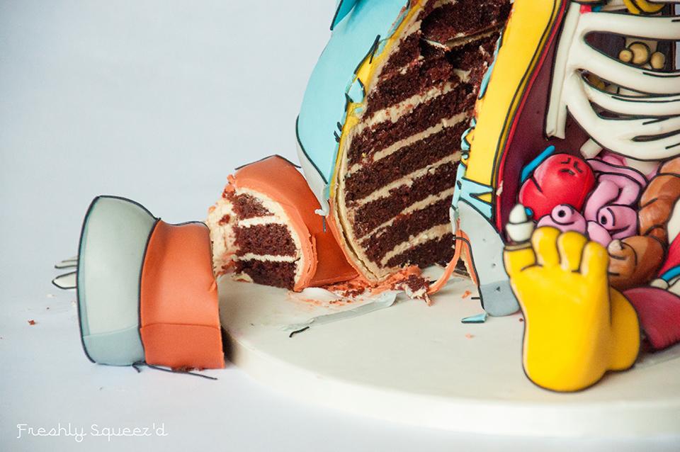 Cutout Ralph Cake