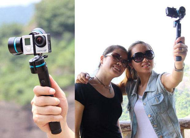 3-Axis Handheld Gimbal for GoPro