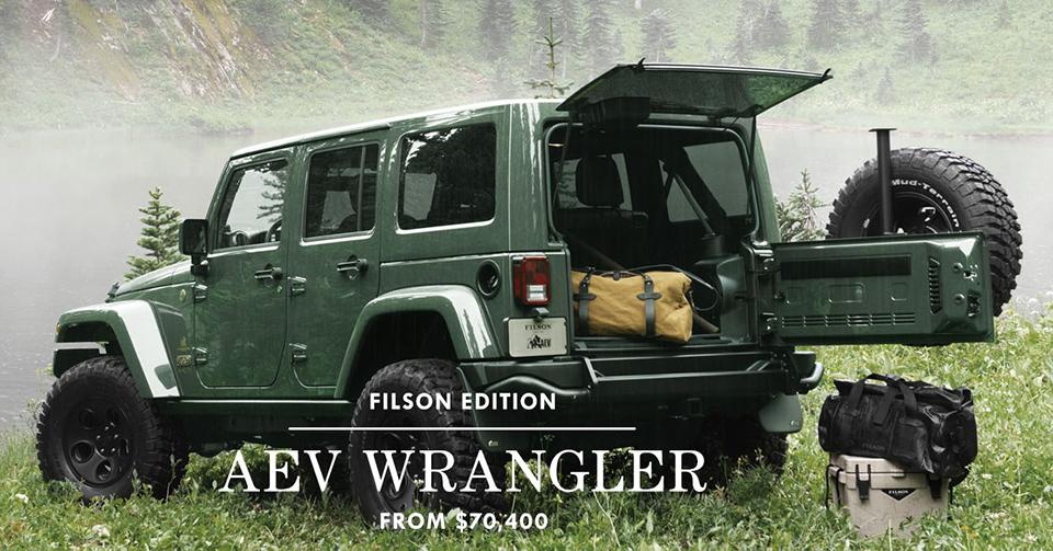 Filson x AEV Wrangler
