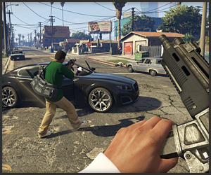 GTA V: First-Person Experience