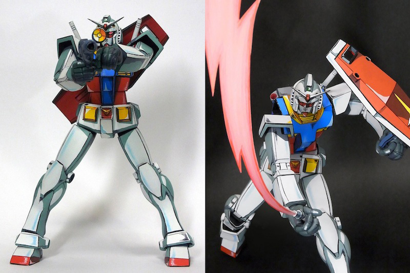 Gundam Anime Illusion Figure