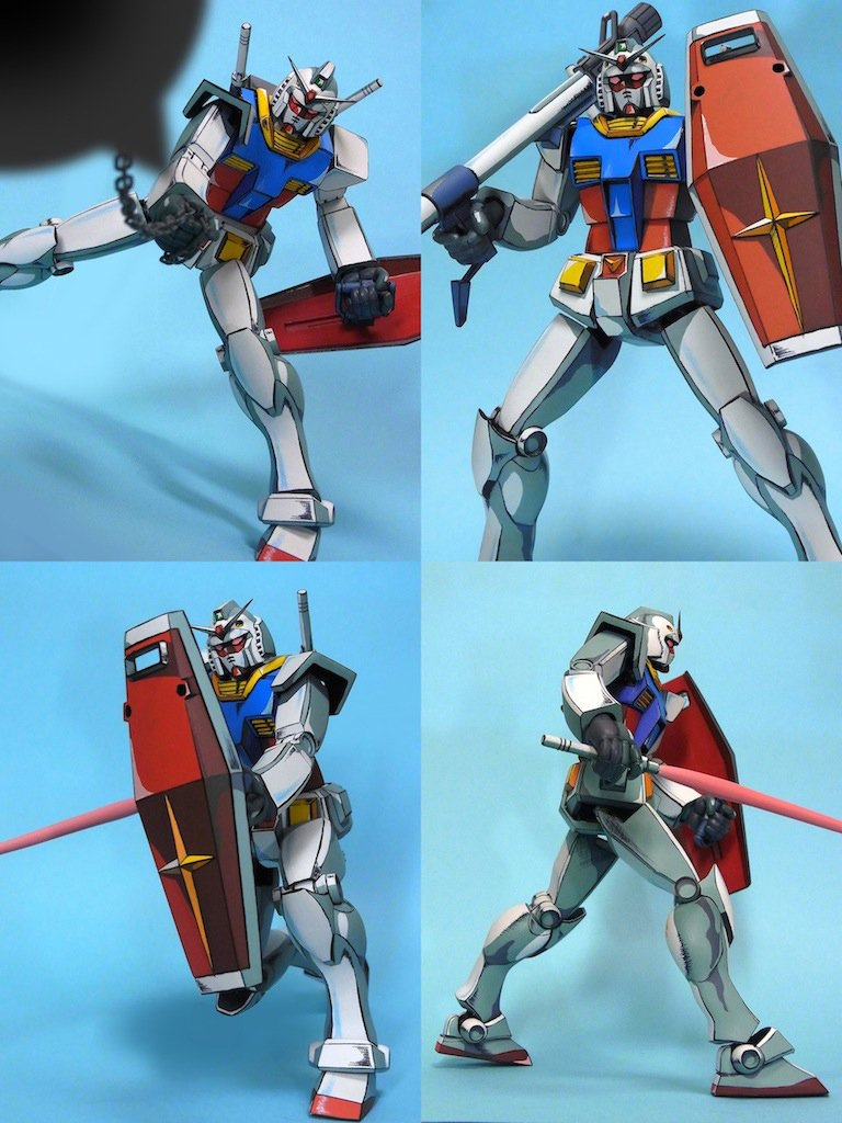 Gundam Anime Illusion Figure