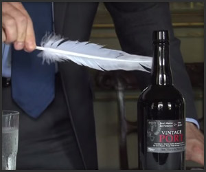 Opening a Bottle with a Feather