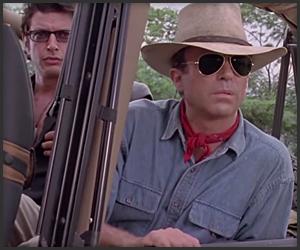 Jurassic Park x Ace Ventura
