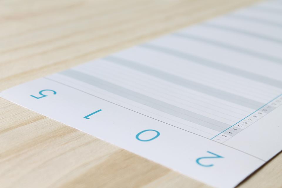 Linear Calendar