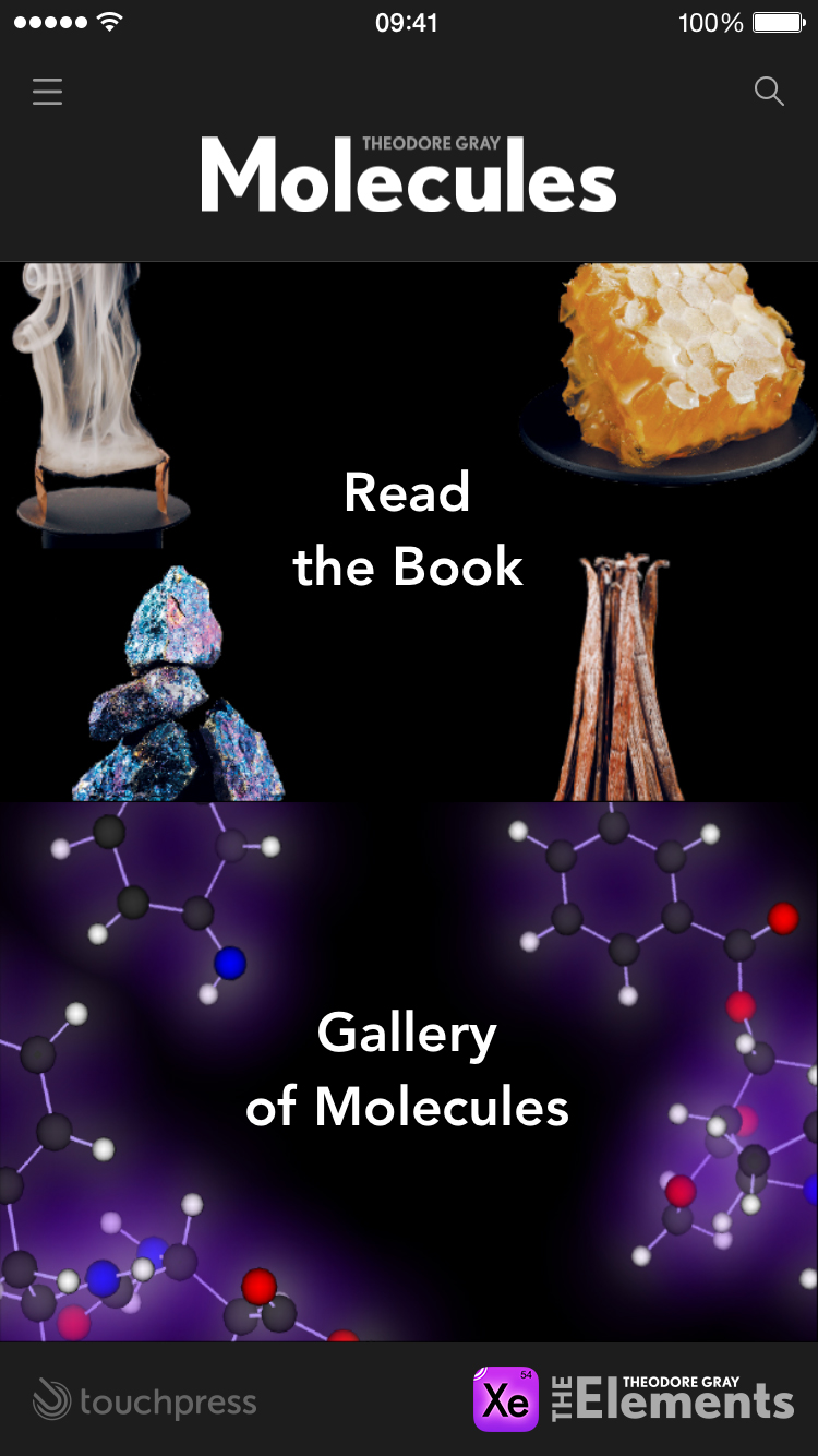 Molecules for iOS