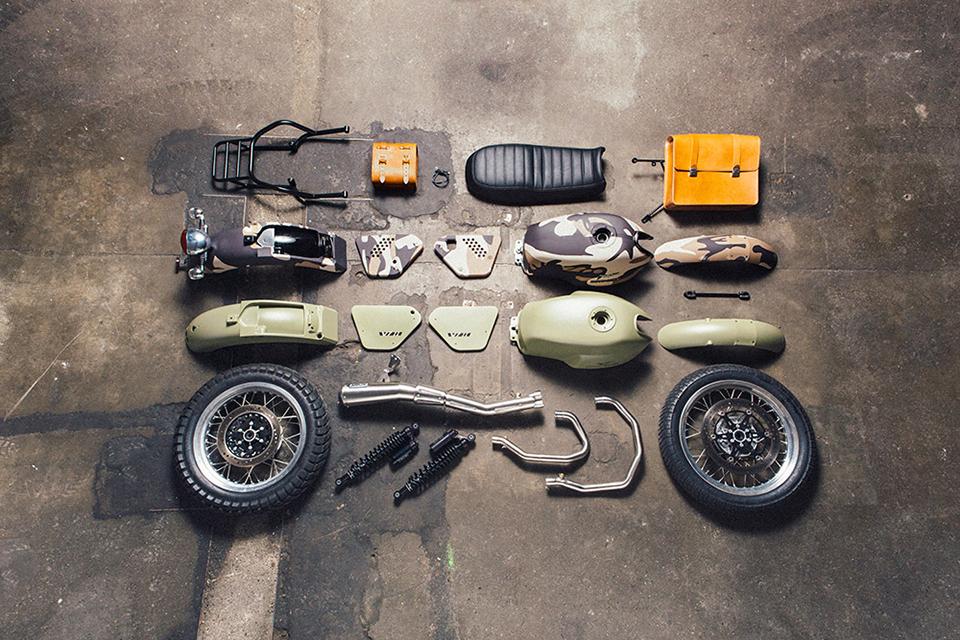 Moto Guzzi V7 Kits