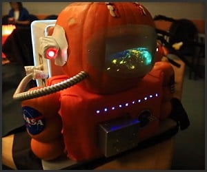 NASA Pumpkin Carving 2014