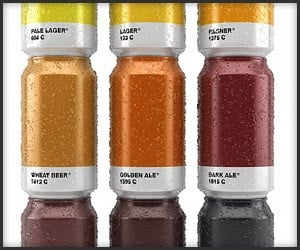 Pantone Beer Cans & Bottles
