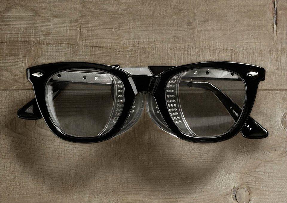 Retro Safety Glasses
