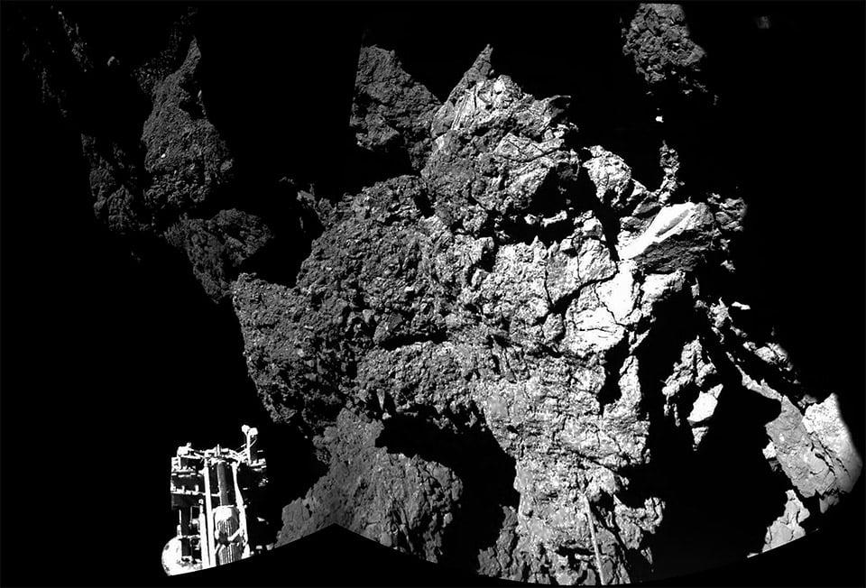 Rosetta Mission: Comet Landing