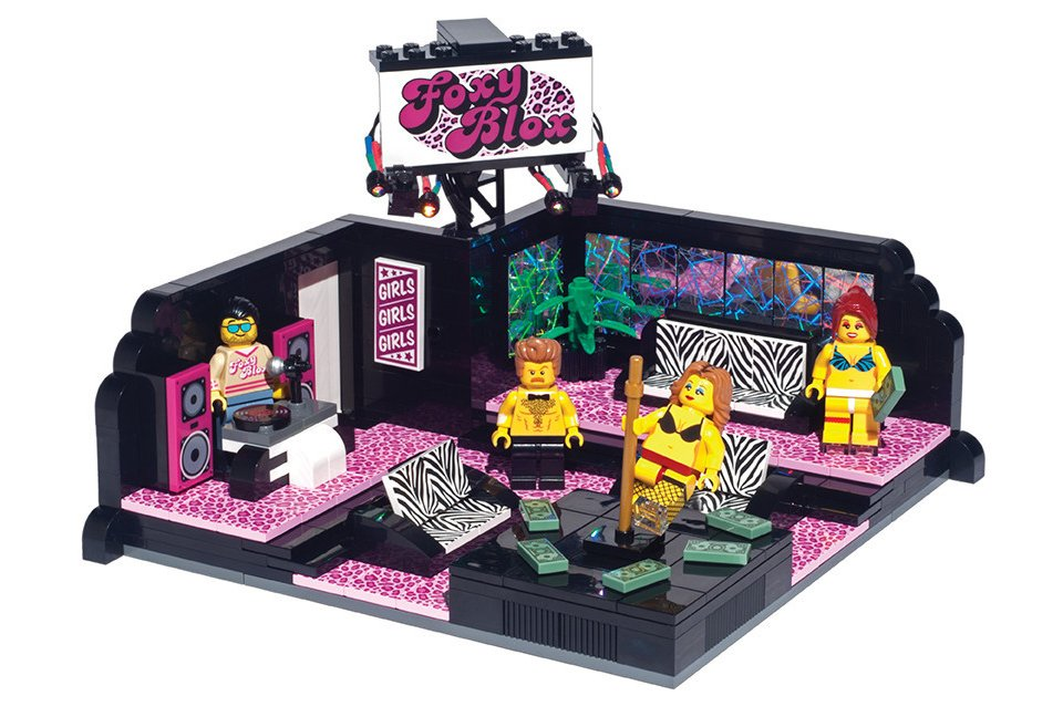 Strip Club LEGO Set