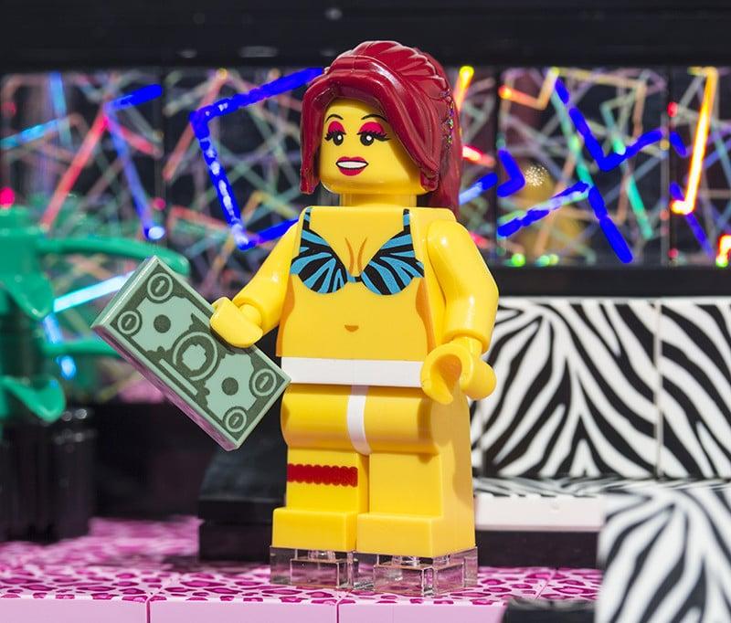 Strip Club LEGO Set