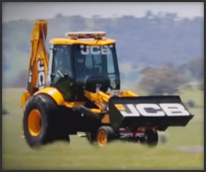 World's Fastest Backhoe