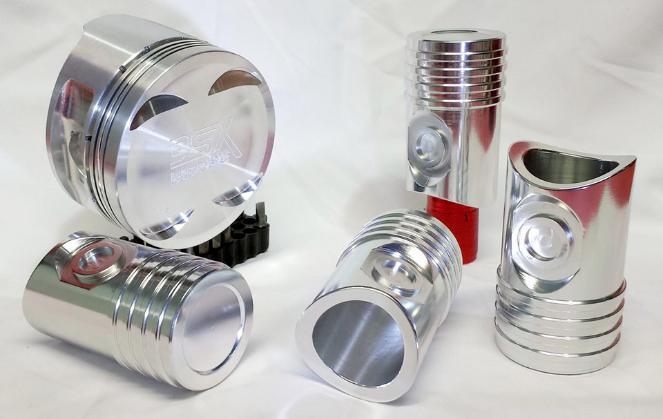 3SX Piston Shot Glasses