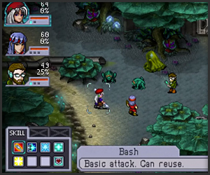 Cosmic Star Heroine (Gameplay)