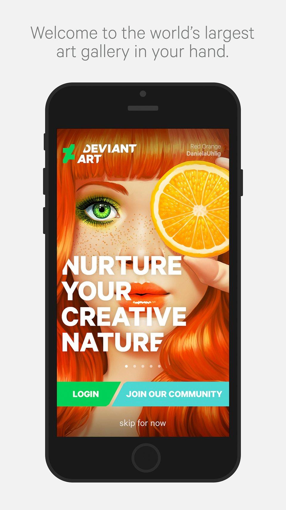 DeviantArt Official Mobile App