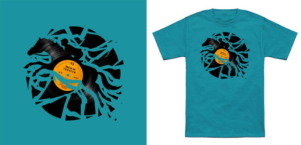 Disc Jockey T-Shirt
