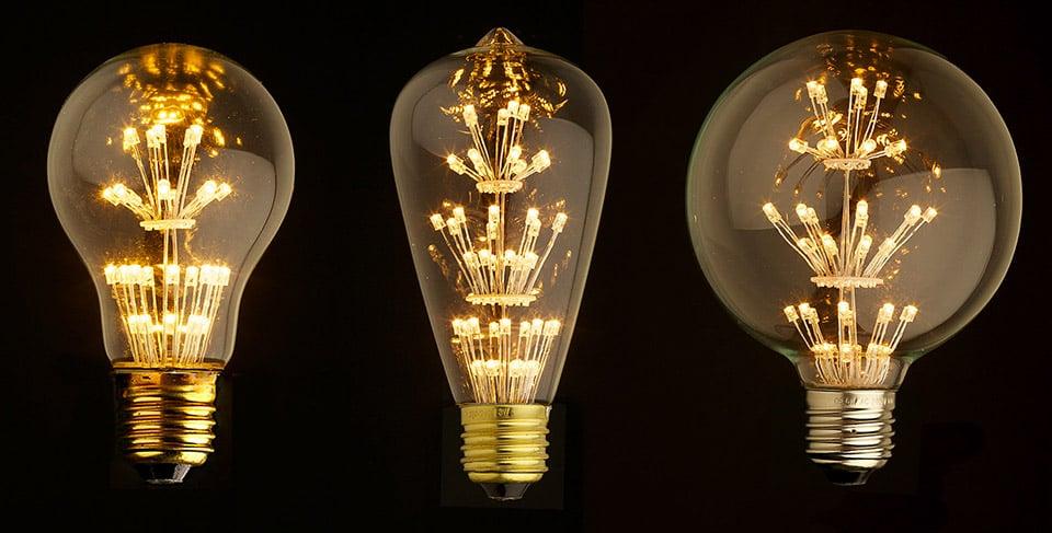 Edison Fireworks Led Bulbs