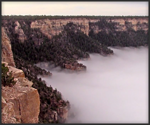 Grand Canyon Cloud Inversion