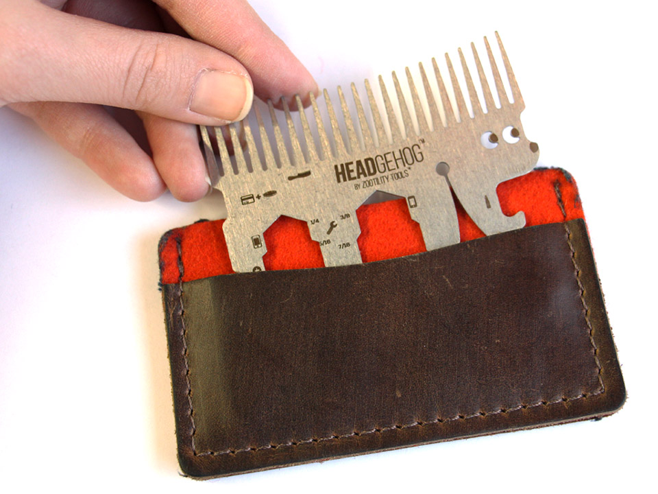 Headgehog Utility Comb