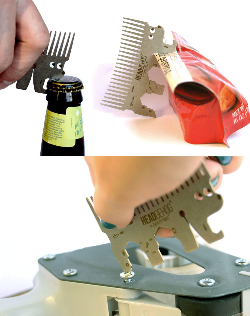 Headgehog Utility Comb
