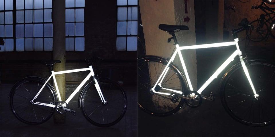 Reflective Bicycle Coating