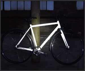 Reflective Bicycle Coating