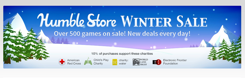 Humble Store Winter Sale