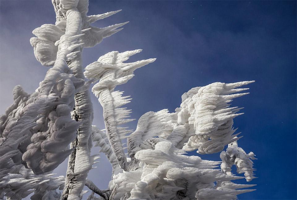 Icy Ski Resort