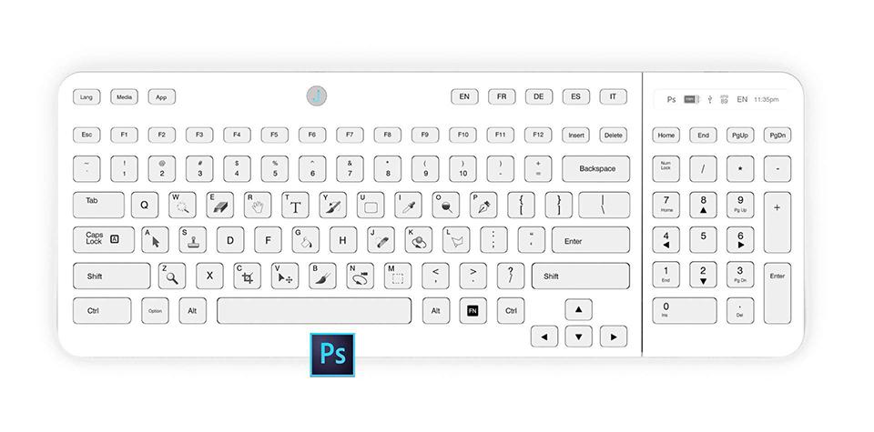Jaasta E-ink Keyboard
