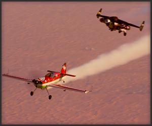 Jetman Aerobatic Formation