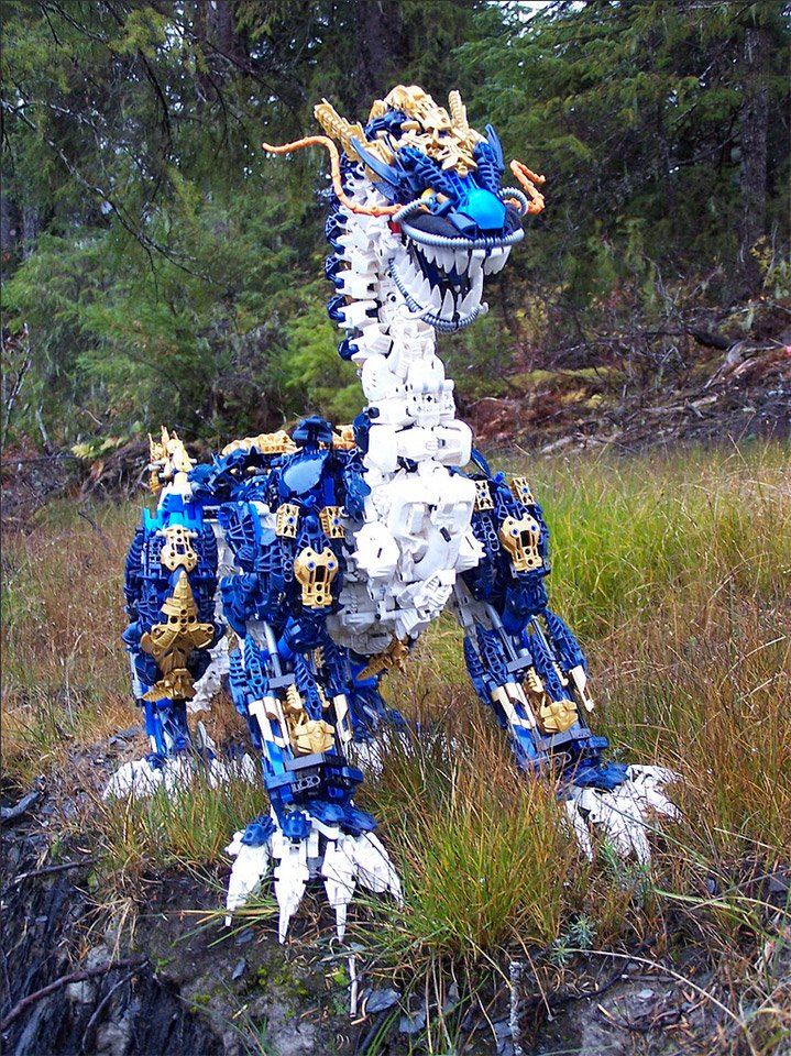 LEGO Bionicle Komodo Dragon