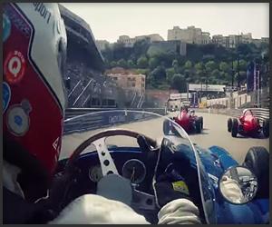 Maserati 250f at Monaco