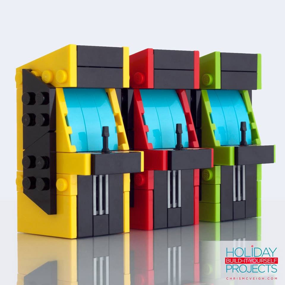 LEGO Arcade Machine Ornaments