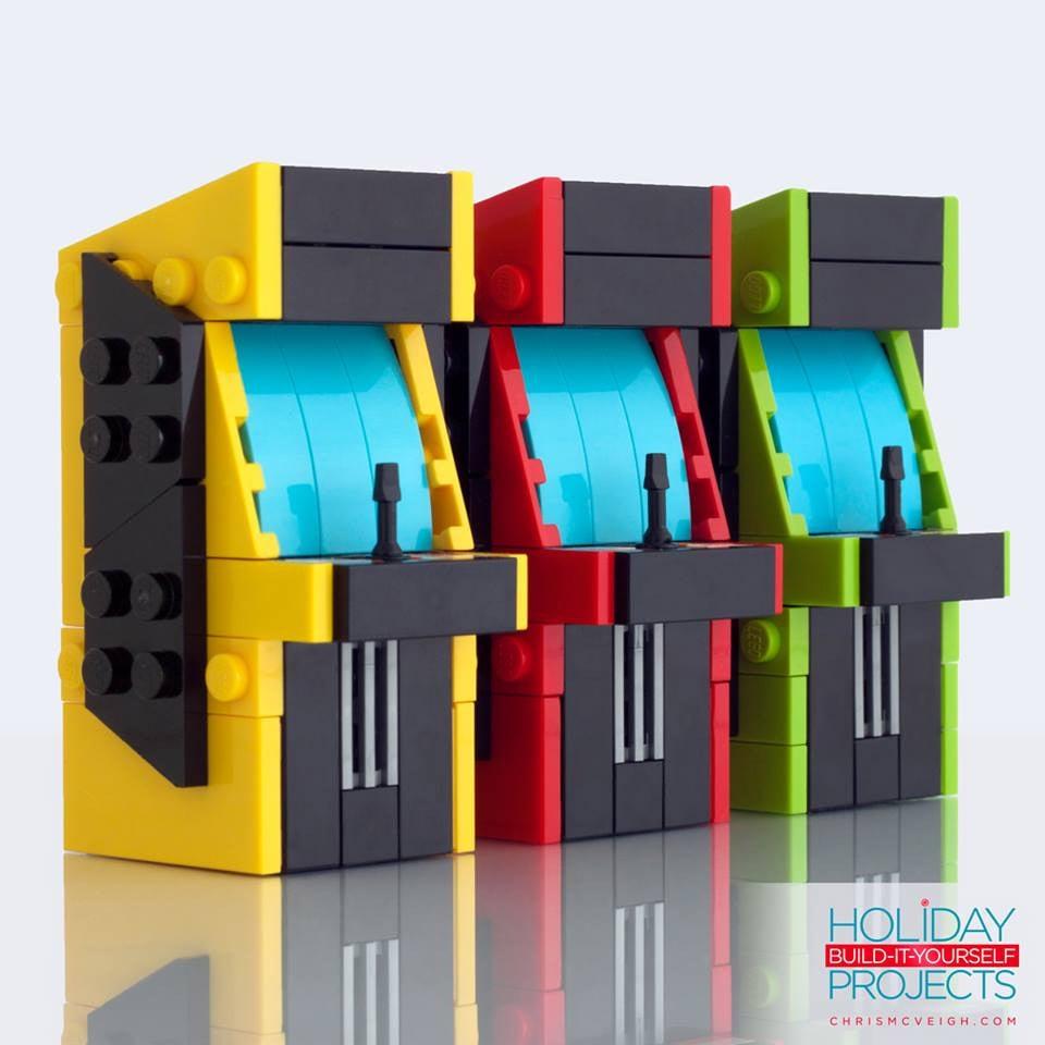 LEGO Arcade Machine Ornaments