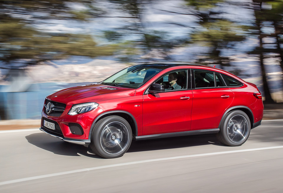 Mercedes benz gle 450 amg the awesomer for Mercedes benz garia golf cart price