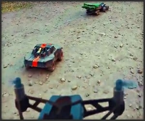Mini-Drones vs. R/C Cars