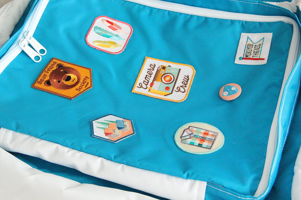 Mokuyobi Threads Patches