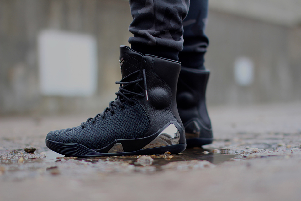 Nike Kobe 9 High Krm Ext Black