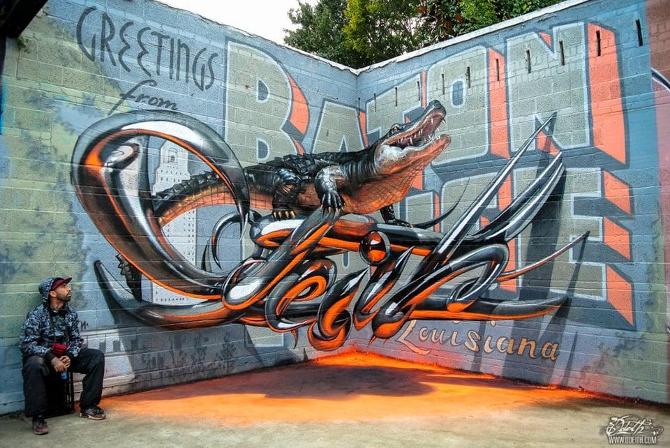 Odeith: 3D Graffiti